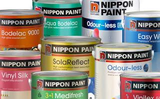 Harga Cat Tembok Merk Nippon Paint