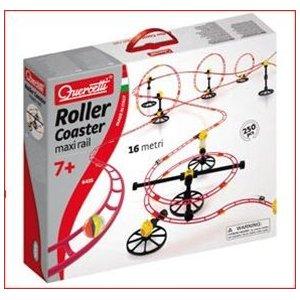 Quercetti Skyrail Marble Run Roller Coaster 250-pc. Set