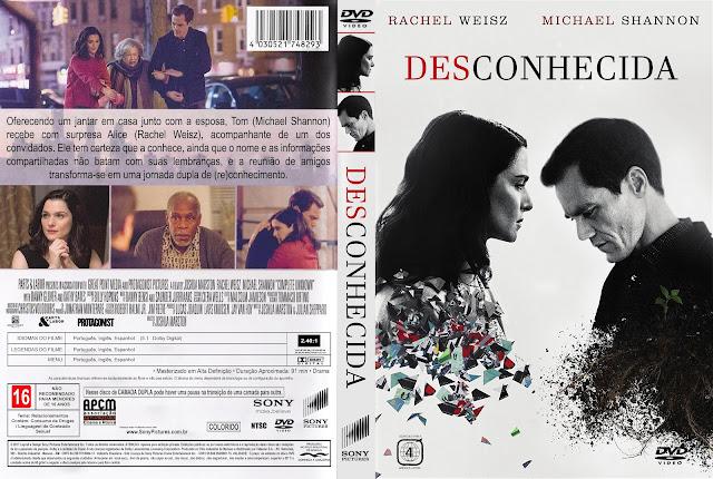 Capa DVD Desconhecida [Exclusiva]