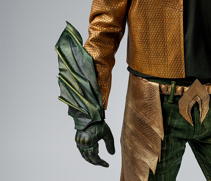 Close Up on Suit Up! Aquaman | oonaballoona by marcy harriell