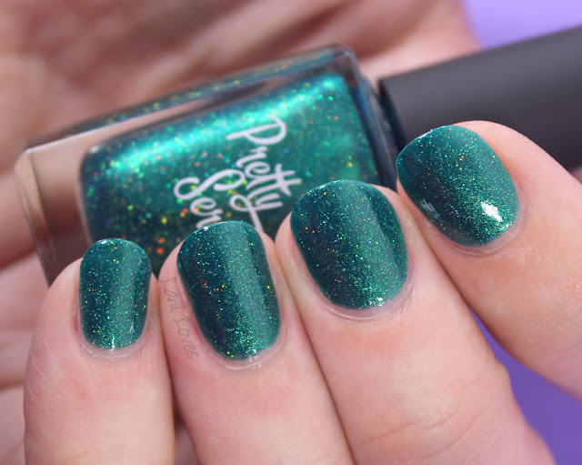 Pretty Serious Serpens Nail Polish Swatches & Review