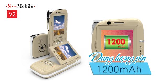 Điện thoại 3 sim 4 sim V2