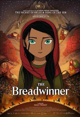 El pan de la guerra (The Breadwinner) - Cartel