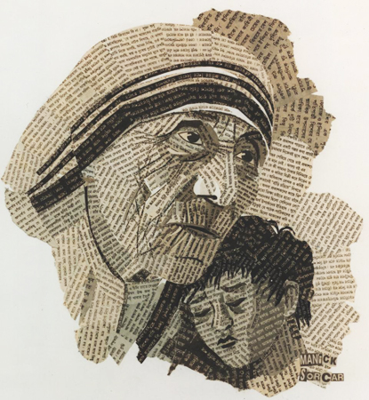 Newspaper Art Projects Ideas Art And Craft