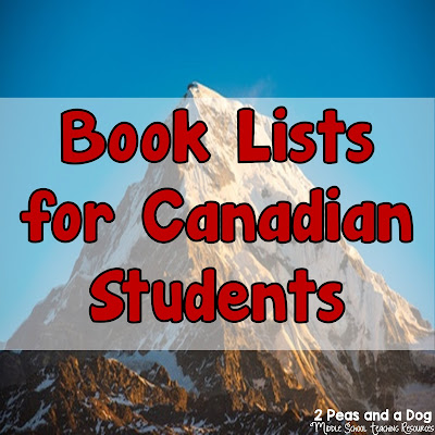 This blog post by the 2 Peas and a Dog blog is a resource for Canadian educators to help youth find well written and age appropriate reading material by utilizing book lists created by the Ontario Library Association.