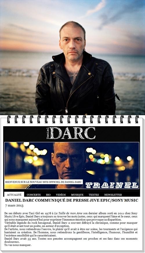 Daniel Darc La Pluie Qui Tombe : daniel, pluie, tombe, TRAINEL:, Daniel, Darc,, Garçon