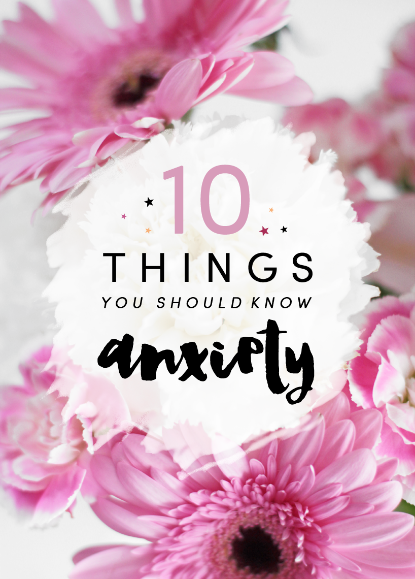 Blog experience anxiety depression