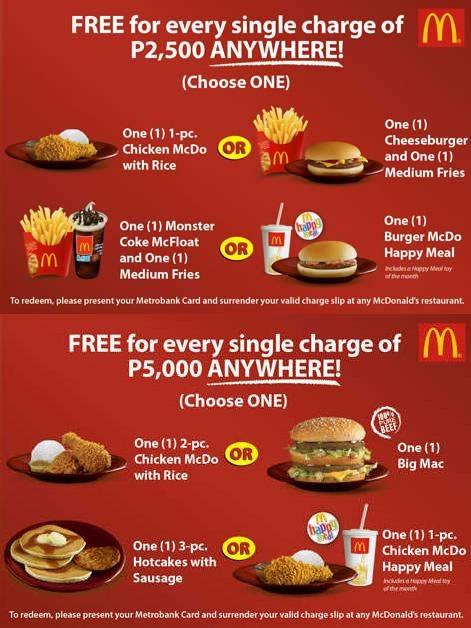 Valid Visa Card Number Metrobank McDonald's T...