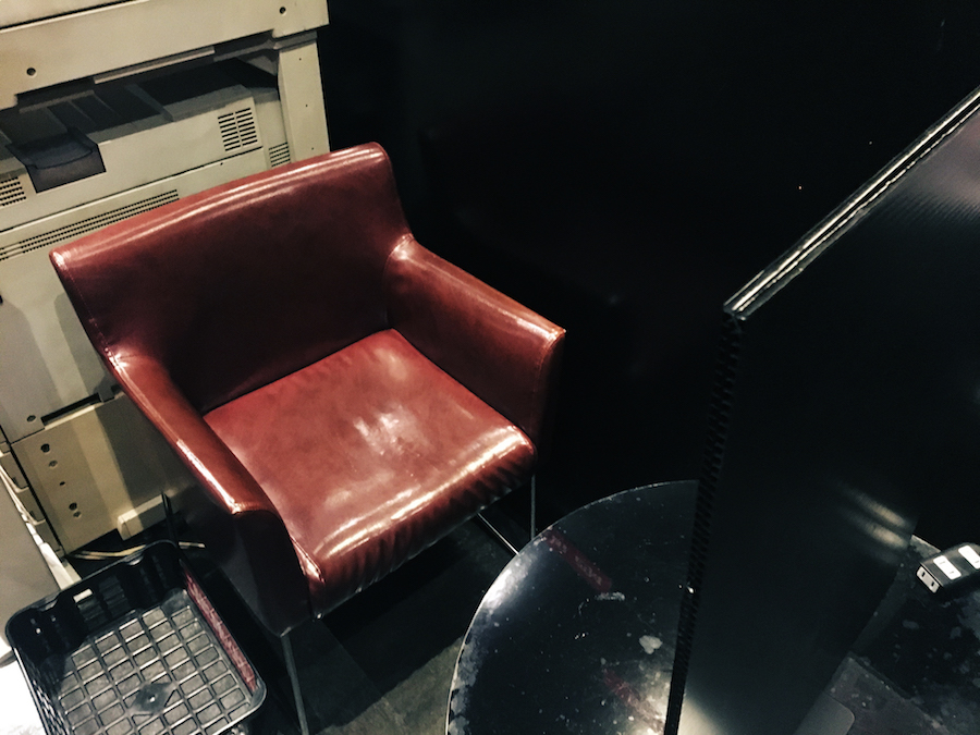Seat for sleeping in at Popeye Mediacafe Osaka Japan