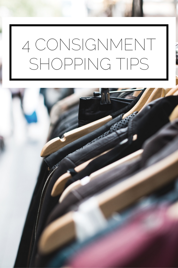 Click to read now, or pin to save for later! Here are 4 consignment shopping tips you need to know to save money and score the best new clothes for your closet
