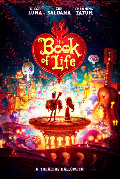 Book of Life Movie Film Animasi 2014 - Sinopsis (Channing Tatum, Zoe Saldana)