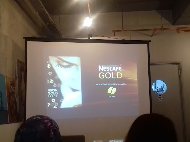 Nescafe Gold Blend Barista Machine akan dilancarkan di Lazada pada 14 September 2016