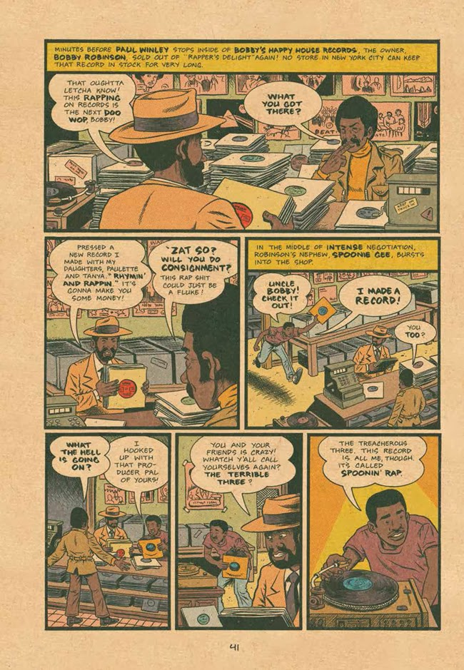 Rob Kirby Reviews Hip Hop Family Tree Vol 1 by Ed Piskor ~ Panel Patter - how to make a family tree book