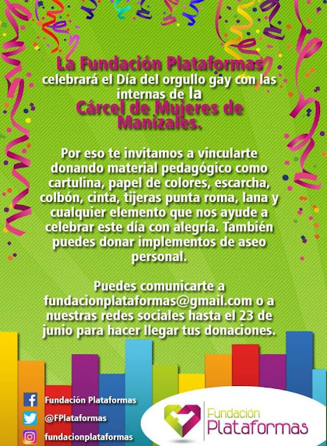 marcha gay orgullo lgbt 2017 lesbianas sexo travesti colombia caldas manizales