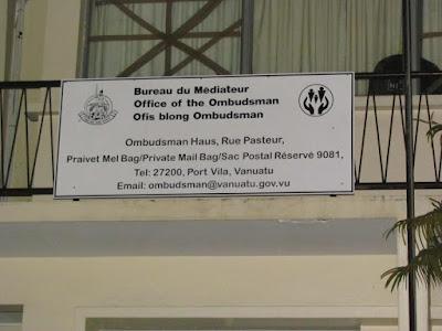 VANUATU: Keluhan diajukan ke Menteri dan Ketua PSC