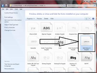 Cara Menulis Aksara Bali Di Microsoft Office Word