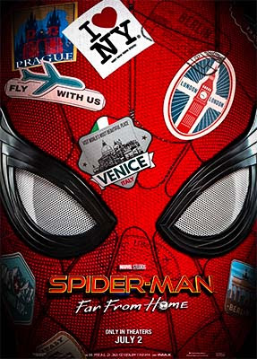 Poster-Spider Man Far From Home Full HD Movie Download 720p In Hindi
