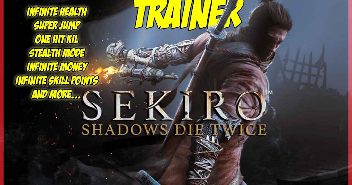 wrongleg sekiro shadows die  trainer