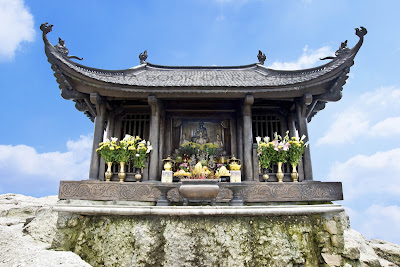 Yen Tu Pagoda - One of the famous destinations in the Lunar New Year