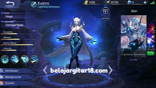 Eudora mobile legends