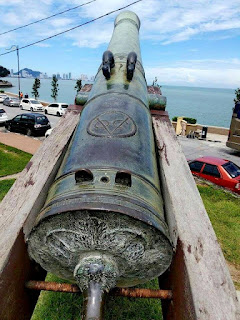 Empat Tokoh Kerajaan Aceh disebutkan pada Meriam Sultan Iskandar Muda di Pulau Pinang