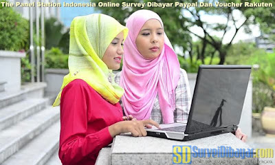 The Panel Station Indonesia Online Survey Dibayar Paypal Dan Voucher Rakuten | SurveiDibayar.com