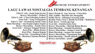 Terbaik 2018 Kumpulan 100 Lagu Tembang Kenangan Mp3 Terbaru Full Album Terpopuler