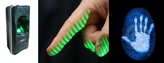 Touchless 3D Fingerprint Recognition