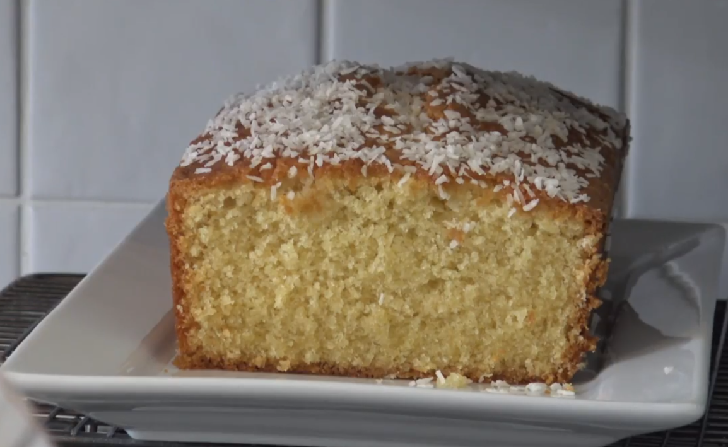 BEST Coconut Pound Loaf Cake I have ever tasted!