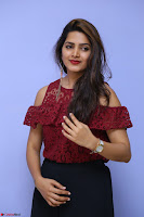 Pavani Gangireddy in Cute Black Skirt Maroon Top at 9 Movie Teaser Launch 5th May 2017  Exclusive 095.JPG