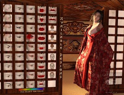 Geisha Builder for Genesis 3 Female
