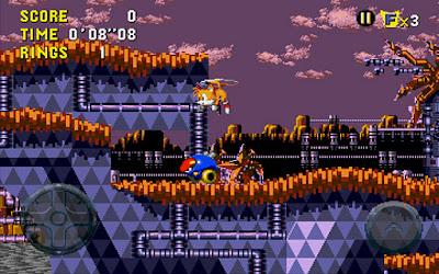 Clássico jogo Sonic CD do Sega CD chega diretamente para o sistema Android 4