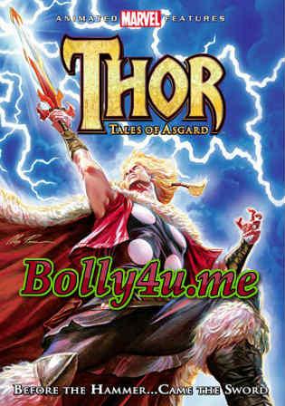 Thor Tales Of Asgard 2011 BluRay 600MB Hindi Dual Audio 720p Watch Online Full Movie Download bolly4u