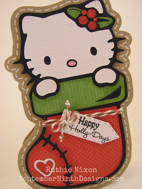 September Ninth Design Stocking Kitty And Freebie