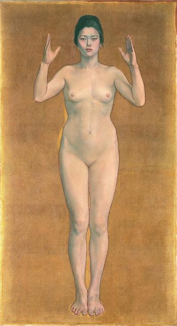Kuroda Seiki - Impressione - arte - nudo femminile