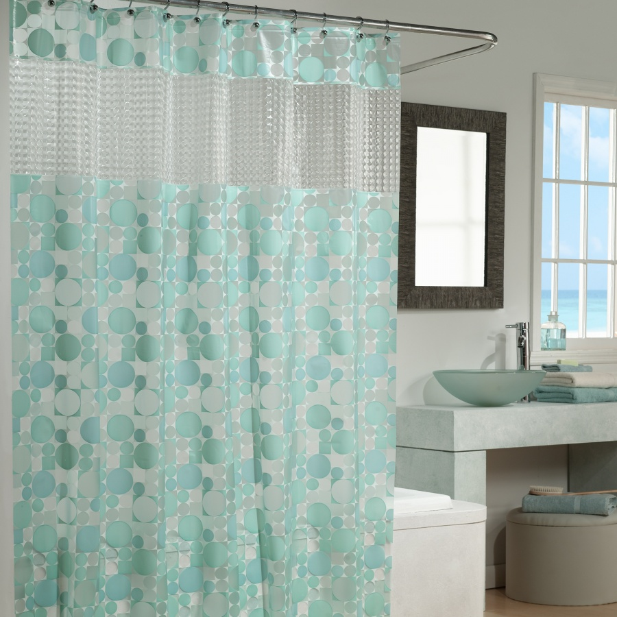 Clear fish shower curtain - Clear Fish Shower Curtain 39