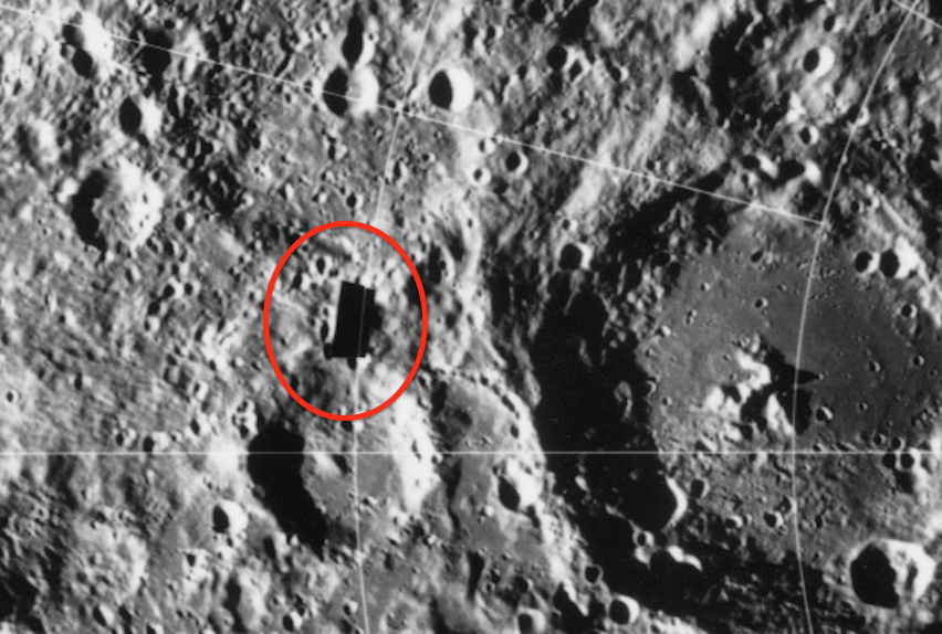 ancient spacecraft on moon clementine satellite - photo #8