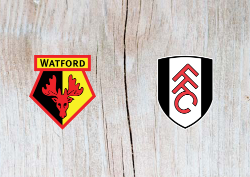 Watford vs Fulham - Highlights 2 April 2019