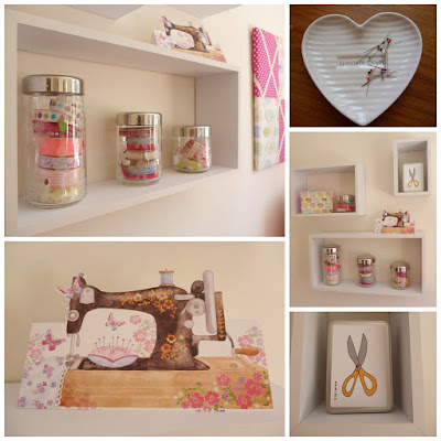 Fabulous 3D effect display shelves