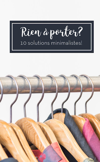 pinterest rien à porter marguerite verte solution garde robe minimaliste minimalisme