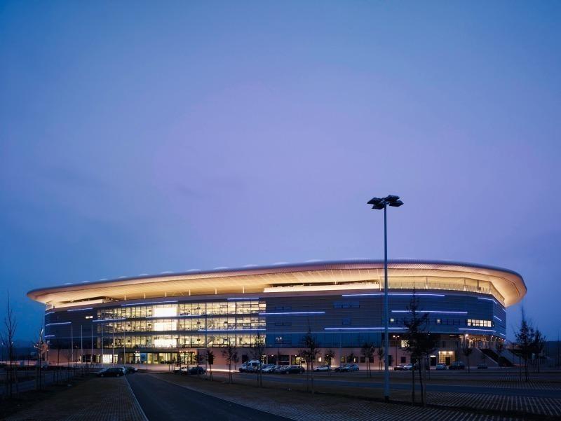 rhein necker arena hoffenheim architettura