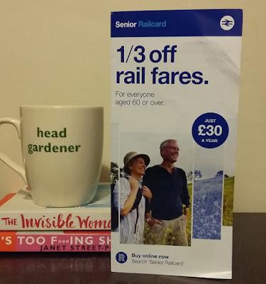 Railcard leaflet