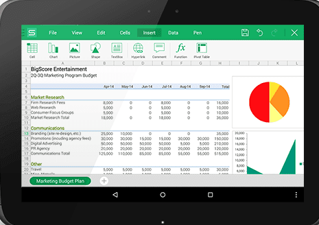 wps office kingsoft office free office office for android free office download king office