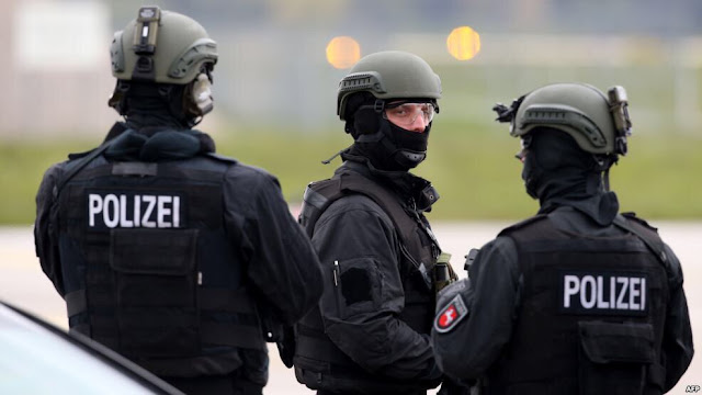 الشرطة الألمانية تستنفر في برلين بسبب لاجئ سوري