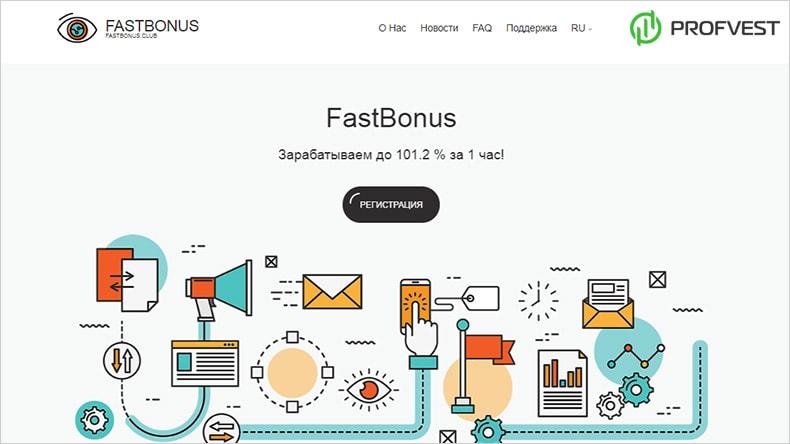 FastBonus обзор и отзывы HYIP-проекта