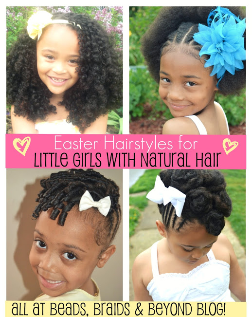 Beads Braids And Beyond Easter Hairstyles For Little Girls With