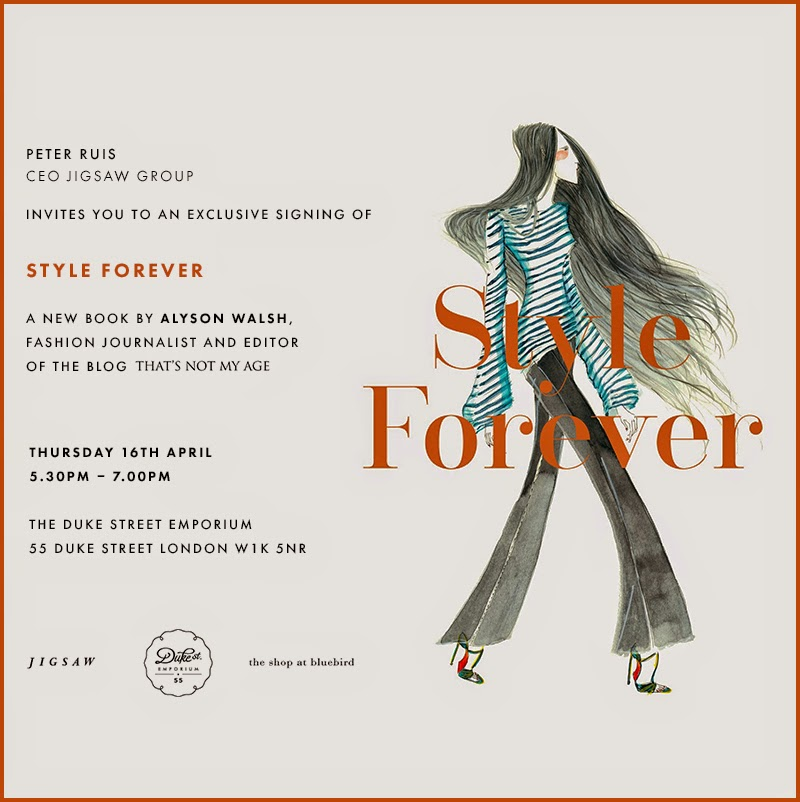 Style Forever book signing at Duke Street Emporium