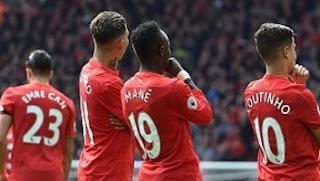 Liverpool Hajar Everton 3-1