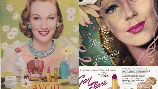 maquiagem anos 50