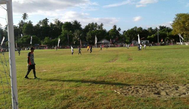 Tim Kesebelasan Domisil vs Tim Kesebelasan Bolangat skor akhir 6-0
